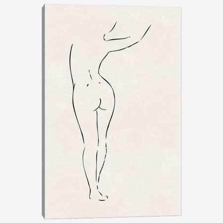 Nude Study II Canvas Print #NUV293} by Nouveau Prints Canvas Print
