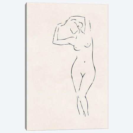 Nude Study IV Canvas Print #NUV295} by Nouveau Prints Canvas Art