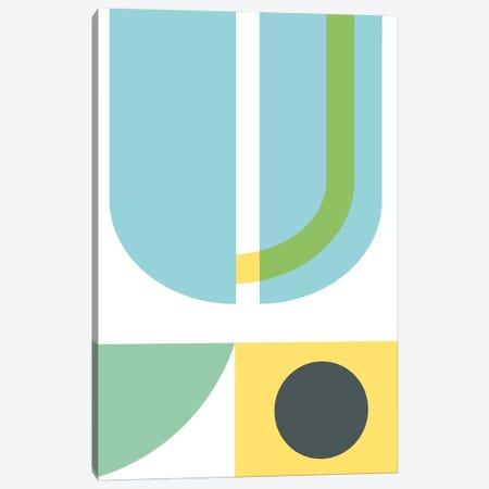 Geometric Composition III Canvas Print #NUV32} by Nouveau Prints Canvas Artwork