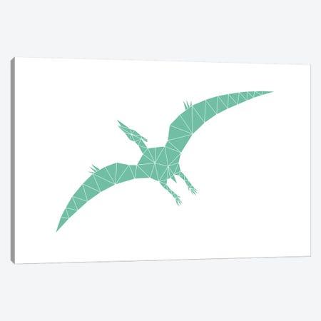 Geometric Dino Pterodactylus Canvas Print #NUV34} by Nouveau Prints Canvas Art Print