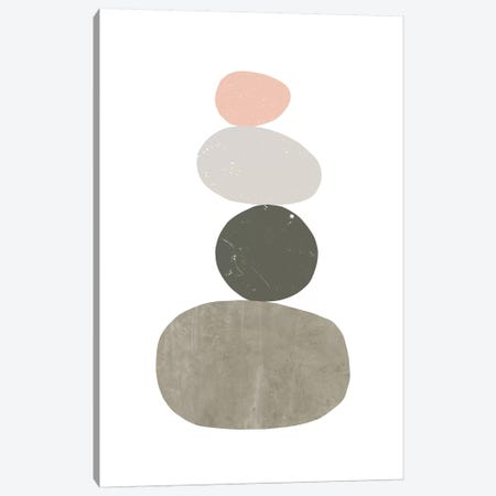 Pebbles I Canvas Print #NUV60} by Nouveau Prints Art Print
