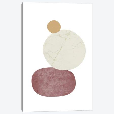 Pebbles II Canvas Print #NUV61} by Nouveau Prints Canvas Print