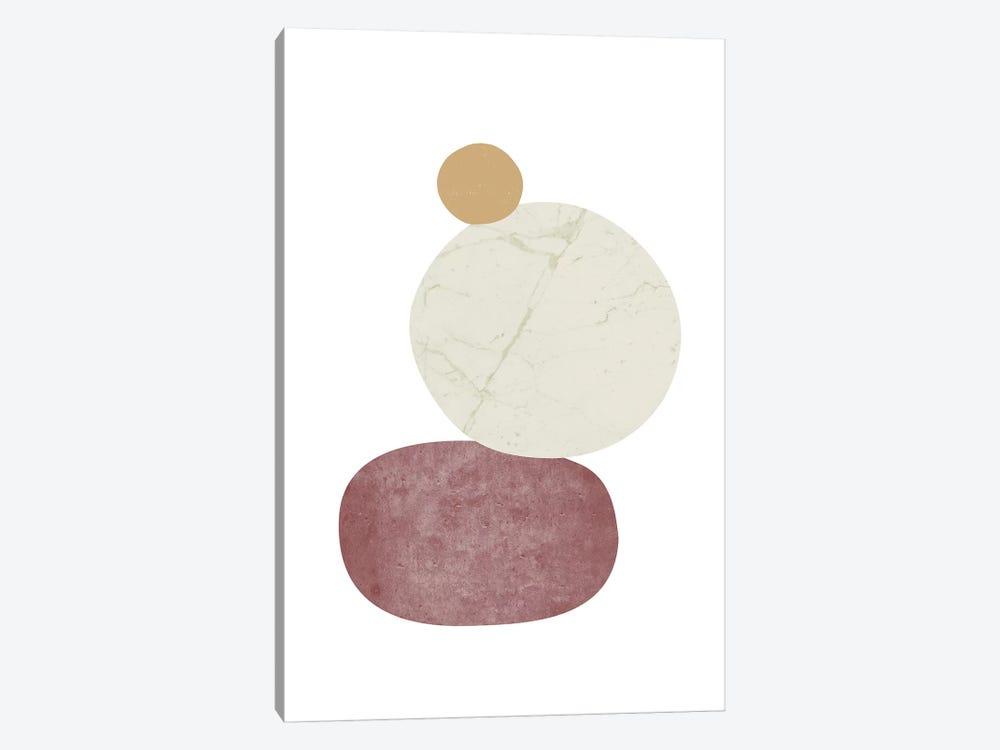 Pebbles II by Nouveau Prints 1-piece Canvas Print