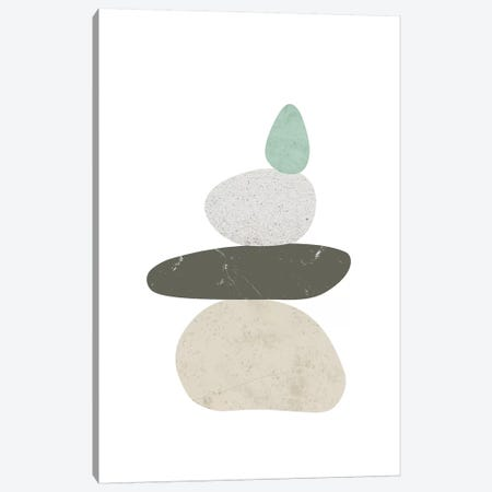 Pebbles III Canvas Print #NUV62} by Nouveau Prints Canvas Art Print