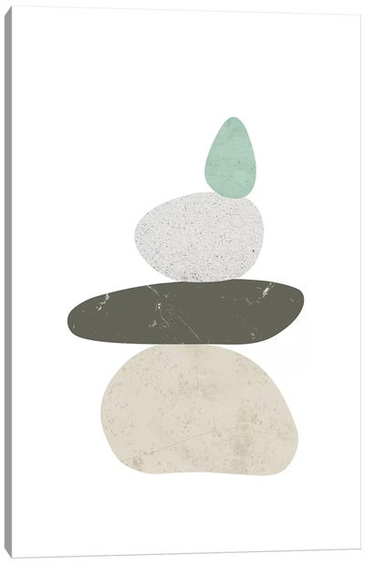 Pebbles III Canvas Art Print