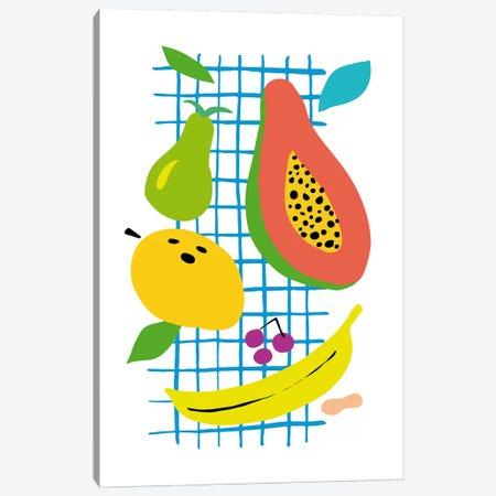 Tropical Fruits Canvas Print #NUV70} by Nouveau Prints Canvas Artwork