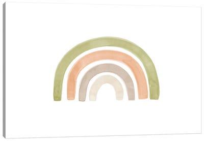 Watercolor Rainbow I Canvas Art Print