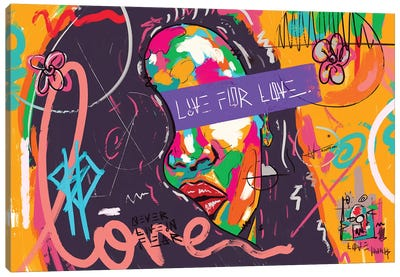 Live For Love Og Canvas Art Print