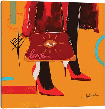 Love Bag - To Be Updated Canvas Art Print