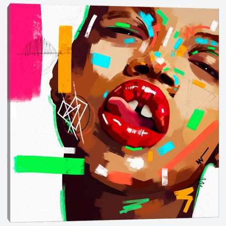 Lust Canvas Print #NUW26} by NUWARHOL™ Art Print