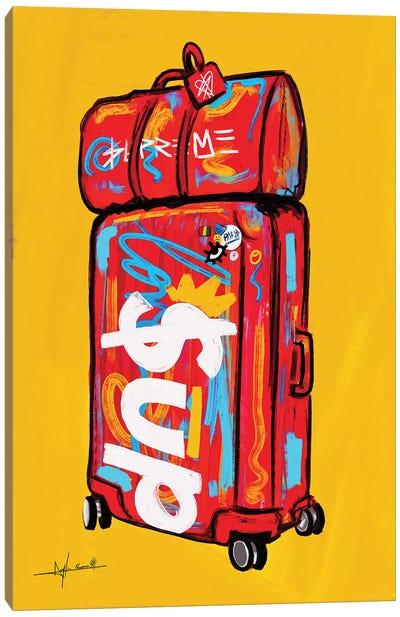 Supreme Luggage I Canvas Art Print