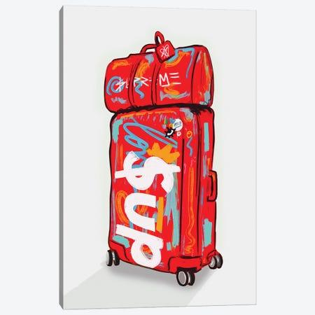Supreme Luggage II Canvas Print #NUW36} by NUWARHOL™ Canvas Art
