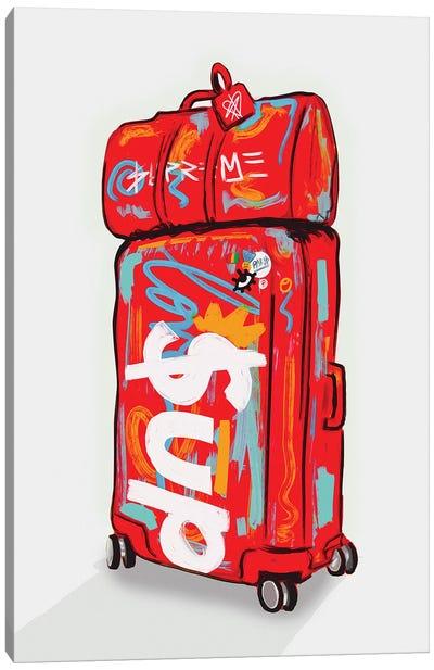 Supreme Luggage II Canvas Art Print