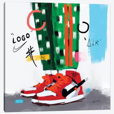 Virgil Street I Canvas Print #NUW38} by NUWARHOL™ Canvas Print