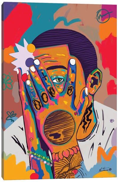 Mac Miller Rip Canvas Art Print