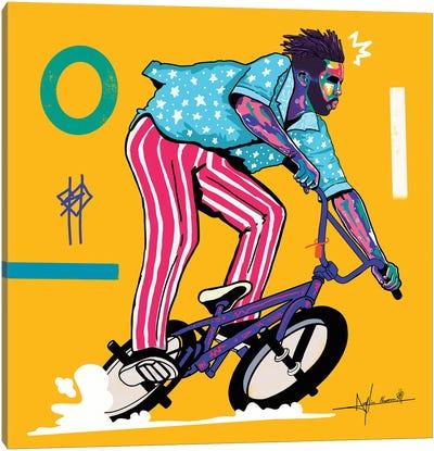 Bmx City Canvas Art Print