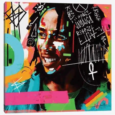 Bob Peace Canvas Print #NUW6} by NUWARHOL™ Canvas Wall Art