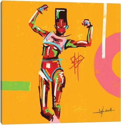 Grace-Stong Woman Canvas Art Print