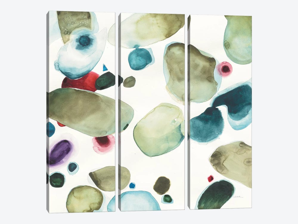 What if III by Shirley Novak 3-piece Canvas Wall Art