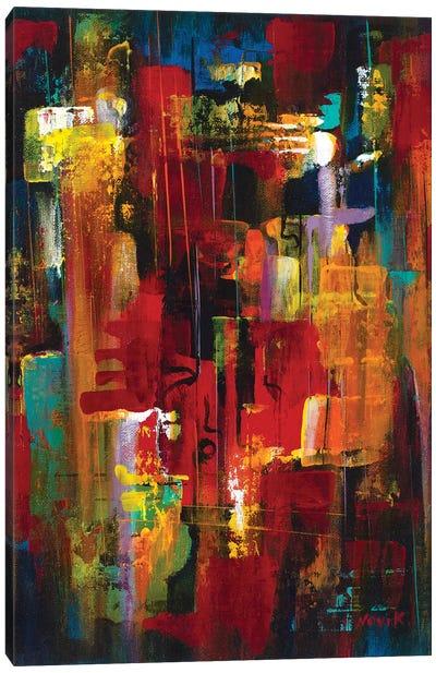 Masquerade II Canvas Art Print