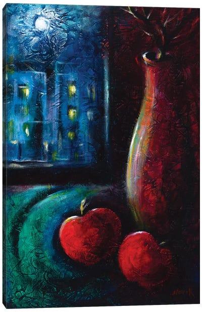 Melancholy Canvas Art Print