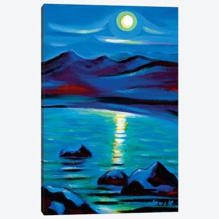 Moon Talk II Canvas Print #NVK113} by Novik Canvas Art