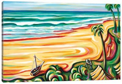 My Island Canvas Art Print