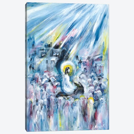 Back To Jerusalem Canvas Print #NVK11} by Novik Canvas Print