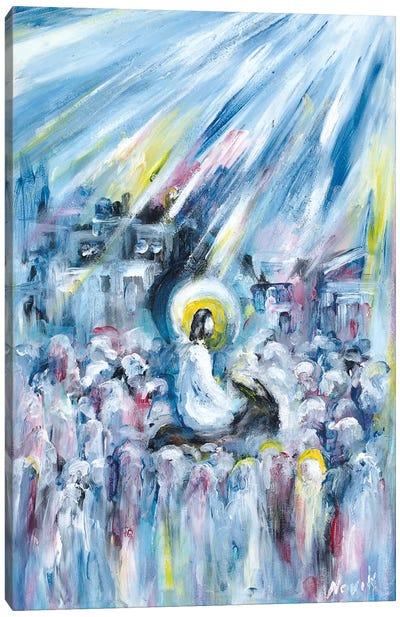 Back To Jerusalem Canvas Art Print