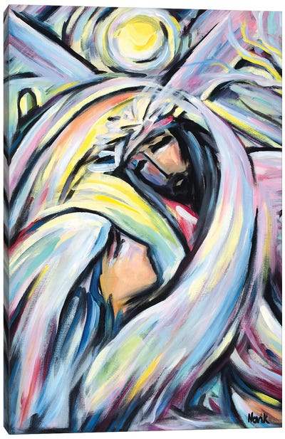 On A Thorny Path Canvas Art Print