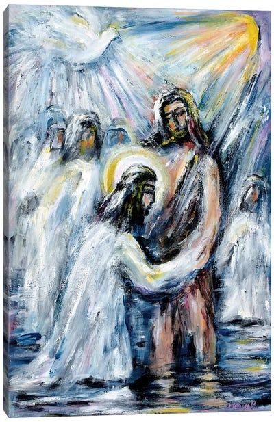 Baptism Canvas Art Print