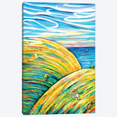 Piece Of Paradise Canvas Print #NVK133} by Novik Canvas Art
