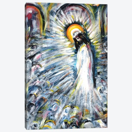 Radiant Canvas Print #NVK139} by Novik Canvas Artwork