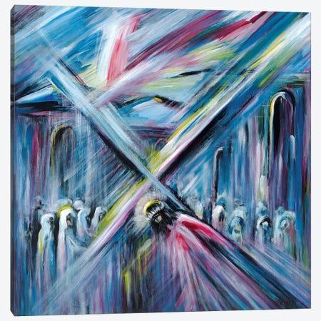 Bearing Cross Canvas Print #NVK13} by Novik Canvas Art Print