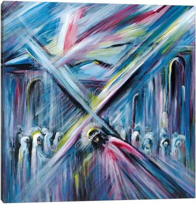 Bearing Cross Canvas Art Print