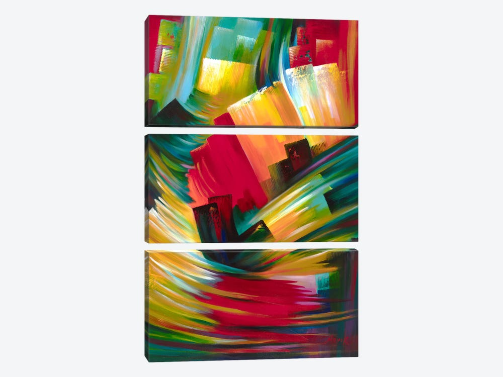 Rebirth by Novik 3-piece Canvas Artwork