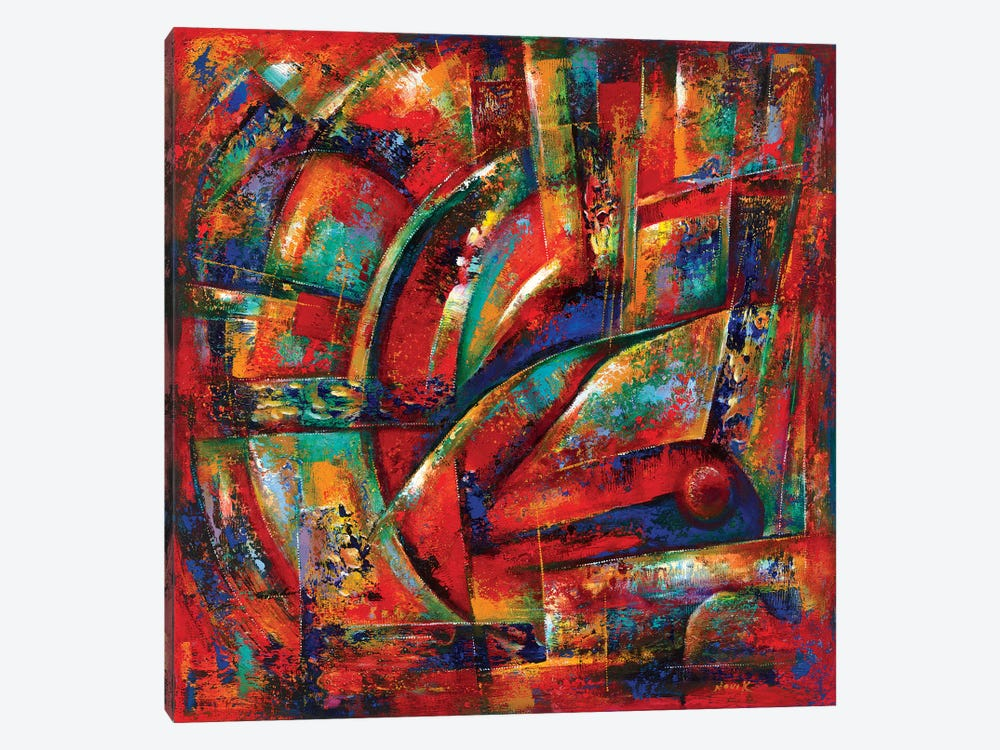 Red Fortune by Novik 1-piece Canvas Art Print