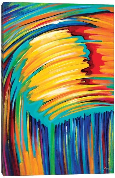Reflection Of The Sun Canvas Art Print