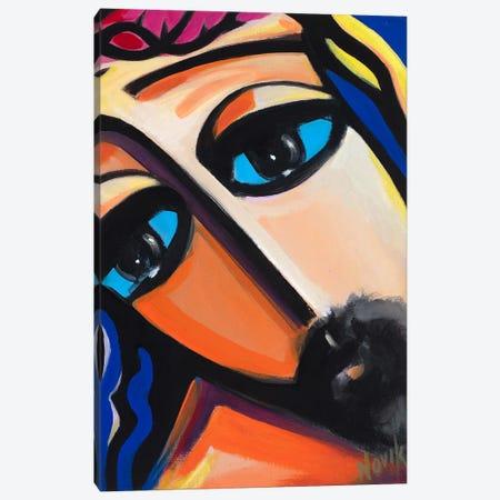 Savior's Eyes Canvas Print #NVK156} by Novik Canvas Print
