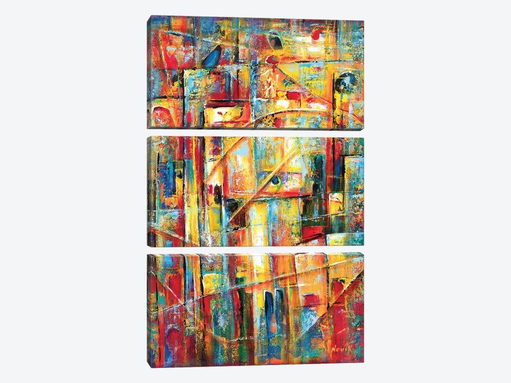 Secret Symbols by Novik 3-piece Canvas Print