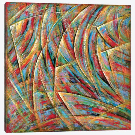 Beyond Lines Canvas Print #NVK15} by Novik Canvas Artwork