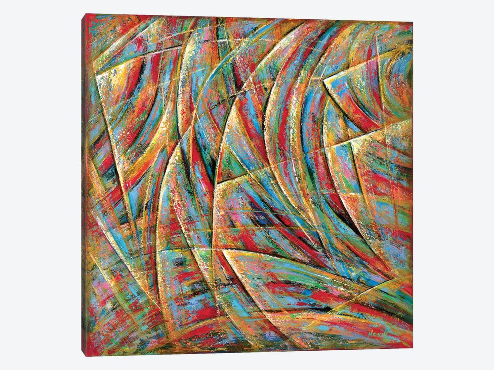 Beyond Lines by Novik 1-piece Canvas Wall Art