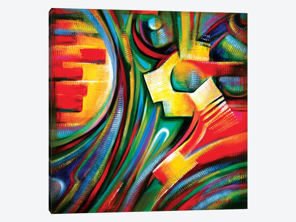 Singing Star by Novik 1-piece Canvas Art