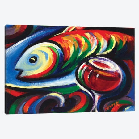Still Life I Canvas Print #NVK173} by Novik Canvas Art