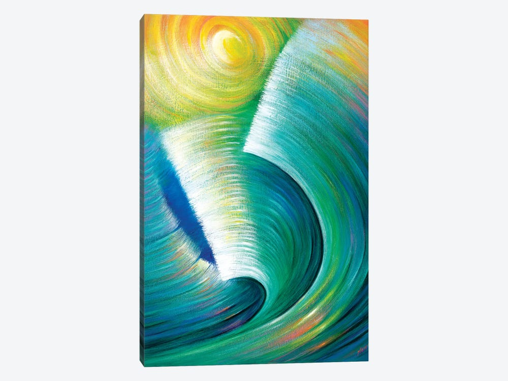 Wave Romance by Novik 1-piece Canvas Wall Art