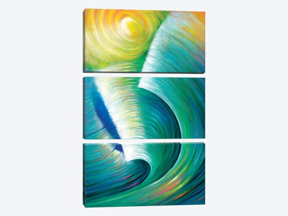 Wave Romance by Novik 3-piece Canvas Art