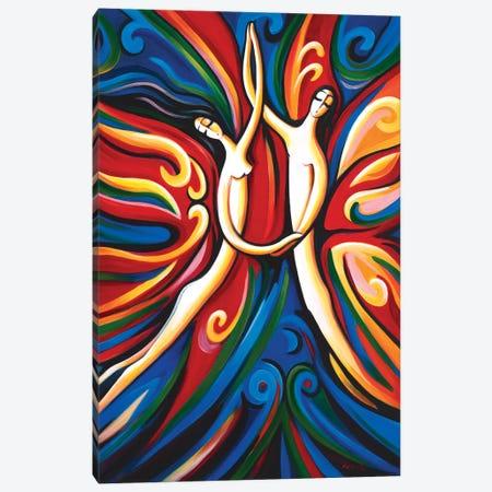 Dance Of Love Canvas Print #NVK212} by Novik Art Print