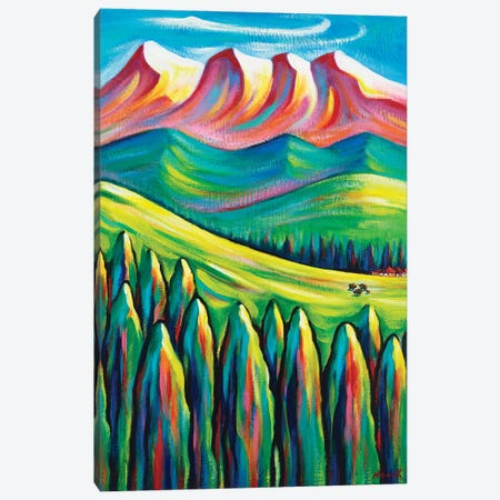 Somewhere Far Canvas Print #NVK222} by Novik Canvas Artwork