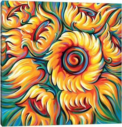 Children Of The Sun Canvas Art Print