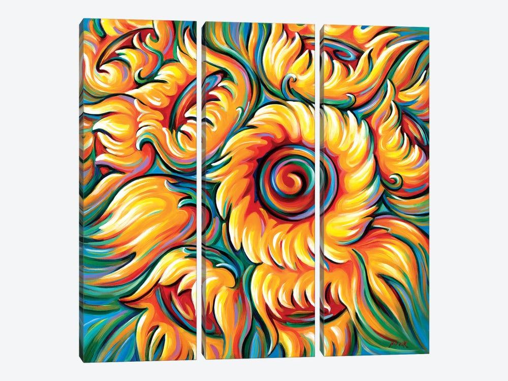 Children Of The Sun by Novik 3-piece Canvas Artwork